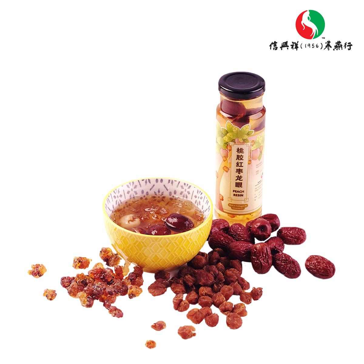 桃胶红枣龙眼(6罐 / 盒)